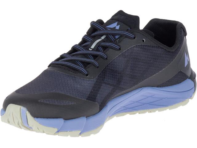 Merrell W's Bare Access Flex Shoes Black/Metalelic Lilac